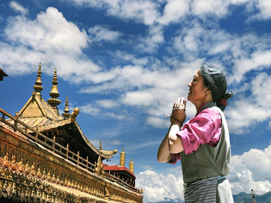 【暑期】【圣地篝火】青藏连线、拉萨、林芝、大峡谷、措木及日、羊湖、纳木错三飞一卧10日游(升级1晚五星洲际住宿、赠西藏唯一财神庙—扎基寺)