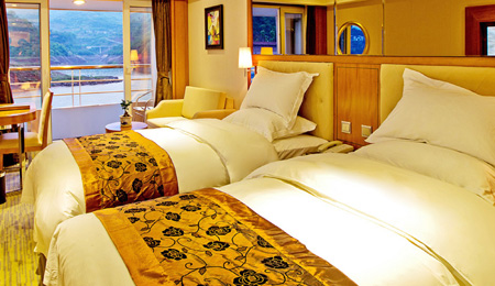 长江三峡、重庆五星游船5天4晚跟团游(动飞,总统6、7、8号17000吨级超大游轮)