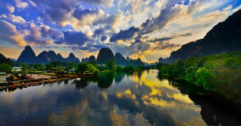 桂林双飞4晚5日跟团游
