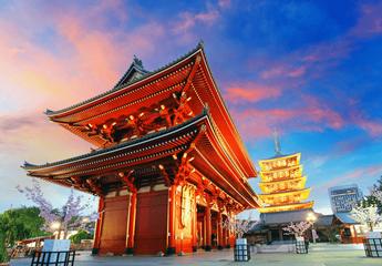 日本本州6日5晚游东阪线(国航白班机、双古城三大都市三大特色餐、和风小火锅+烤肉畅吃、和风京都)