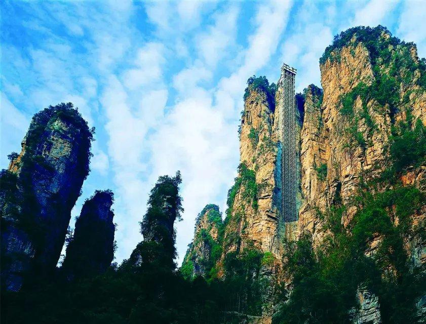 长沙、韶山、张家界森林公园、天门山、云天渡玻璃桥、天门狐仙、凤凰古城双高6日