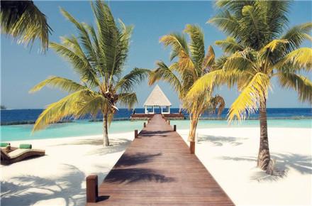 马尔代夫波杜希蒂岛5晚7日自由行(新航转机,1晚马累含早+波杜希蒂岛2泳池沙2泳池水,含早晚餐,快艇上岛)