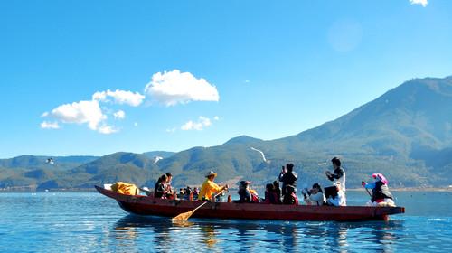 丽江、泸沽湖4晚5日跟团游(纯玩,玉龙雪山+里务比岛+摩梭家访,赠《丽水金沙》)