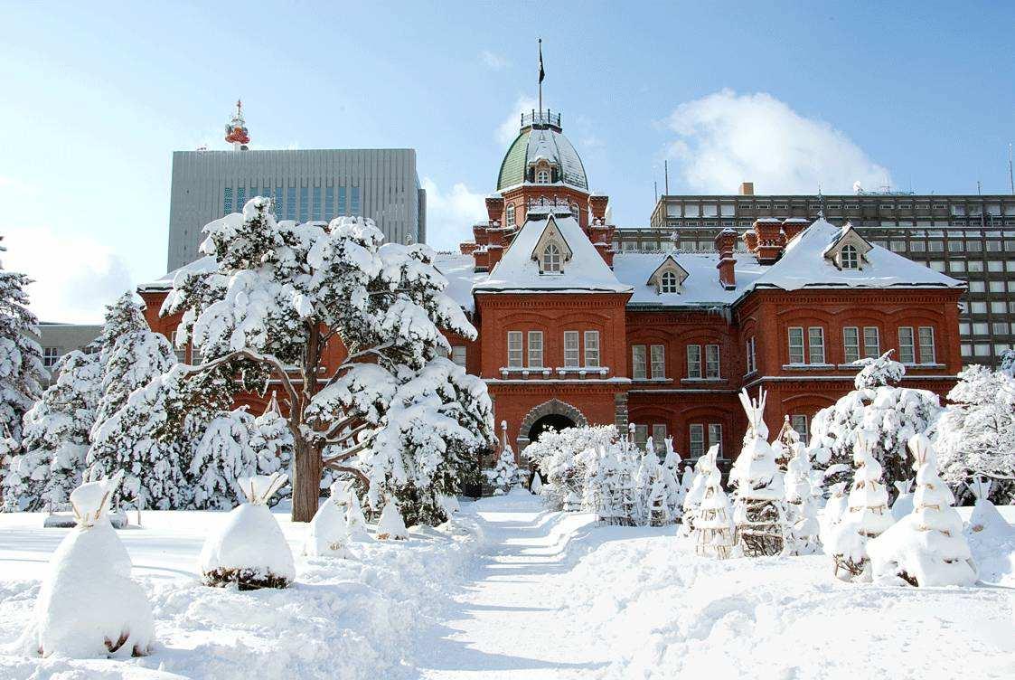 日本北海道5晚6冬日游(HO,双温泉酒店、2晚五星酒店、高餐标含全餐、滑雪OR自由活动,送雪上活动)