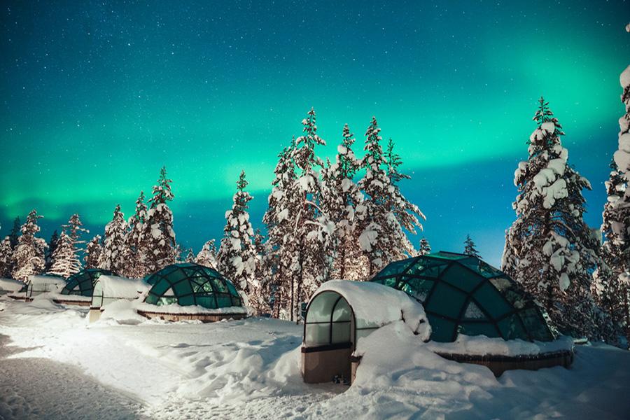 【寒假】【追寻北极光,梦幻玻璃屋】挪威+芬兰+极地深度10日(正宗玻璃穹顶酒店,圣诞老人村,冰雪城堡,极地列车)