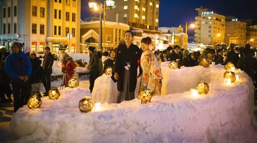 【寒假】北海道春节5晚6日游(2晚滑雪度假温泉酒店、全程餐标高达30000日币、包含雪上摩托车、雪上香蕉船、雪盆)