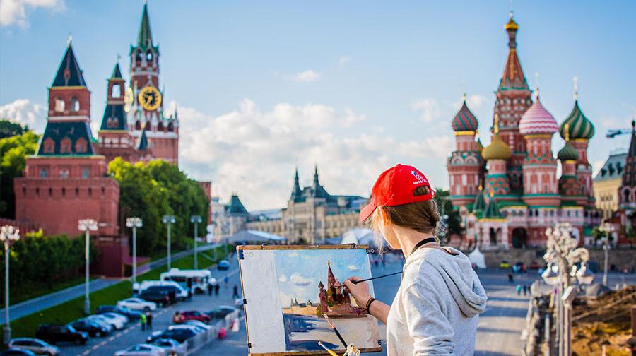 【精品小团】俄罗斯9天7晚,莫斯科+圣彼得堡,马戏+全球50佳餐厅+冬宫夏宫艺术巡礼+芭蕾舞表演+游船 经典景点和特色体验玩转俄罗斯