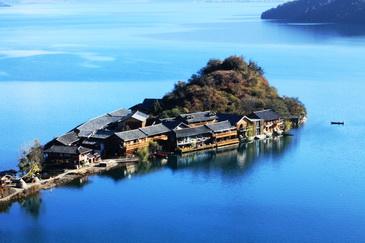 丽江、泸沽湖4晚5日跟团游(纯玩,拉市海+里务比岛+摩梭家访,赠《丽水金沙》)