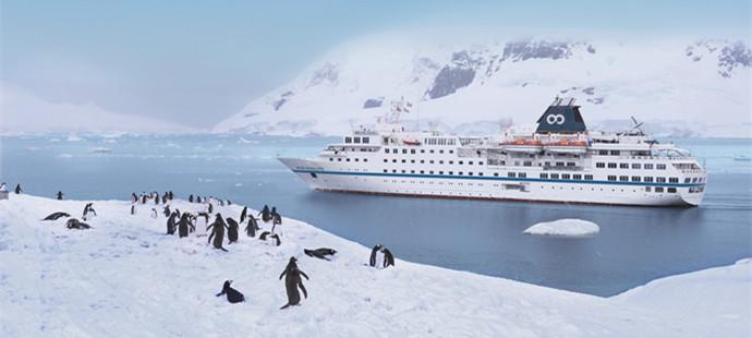 南极+智利15日13晚跟团游·五星级小型探险邮轮Resolute坚韧号+超高抗冰级1AS级+包机双飞德雷克海峡+免除四天晕船时间+超2倍登陆时长