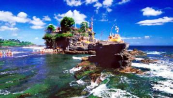 温情巴厘岛4晚5日半自助游(杭州直飞,纯玩无购物;1天自由活动,巴厘岛最美双离岛游-蓝梦岛+贝尼达岛,赠送独木舟、香蕉船1次)