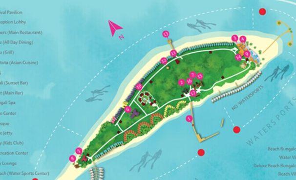 马尔代夫迪迦莉岛5晚7日自由行(东航直飞+1晚马累当地住宿酒店+迪迦莉岛2沙2水+含早中晚餐+内飞上岛+拖尾沙滩)