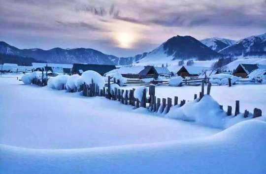 《冰雪仙境》——新疆喀納斯直通車,雙飛雙臥六日游
